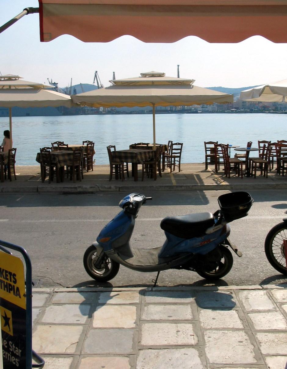 SYROS: TRAVEL AGENCY VIRGINIAS PARISI