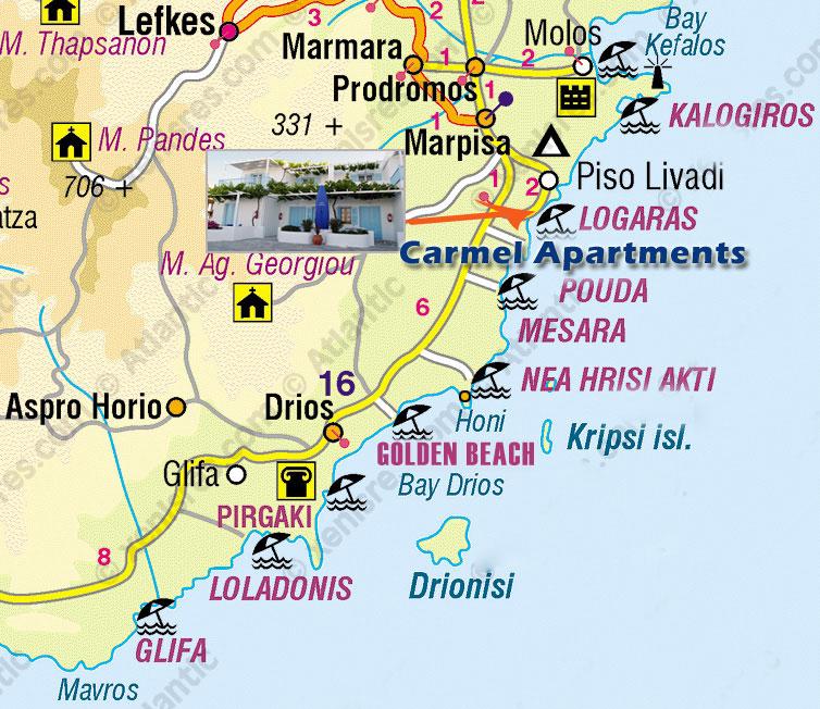 ΠΑΡΟΣ: CARMEL APARTMENTS