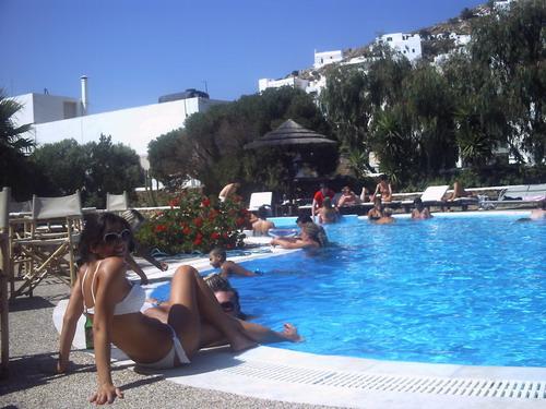 Hotel Mediterraneo ios Greece - YouTube