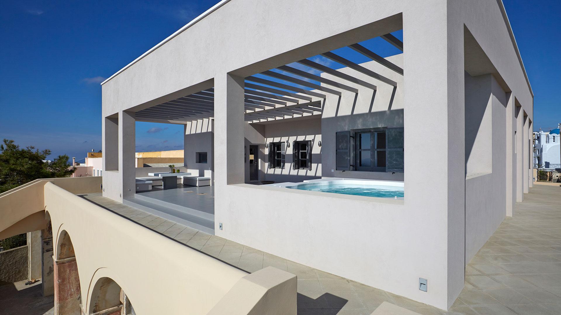 SANTORINI - SOGGIORNO - Santorini accommodation, studios, rooms, pension and apartments