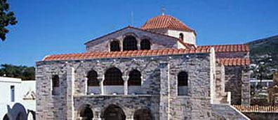 PAROS: BYZANTINE MUSEUM OF EKATONTAPYLIANI
