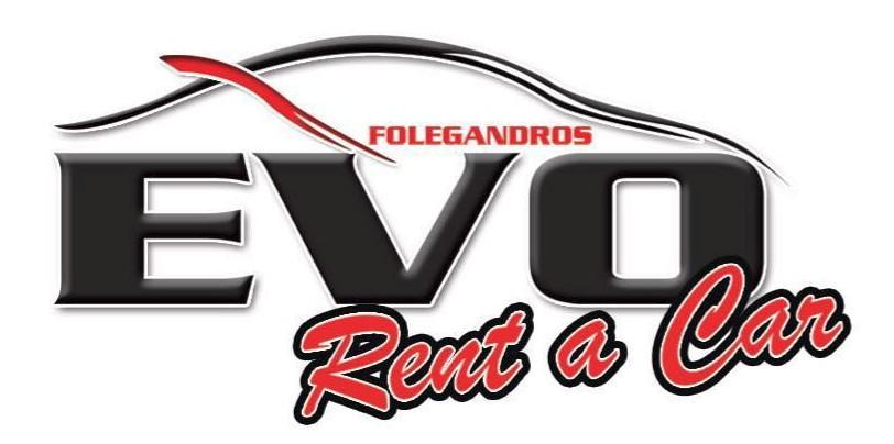 ΧΩΡΑ ΦΟΛΕΓΑΝΔΡΟΣ: EVO RENT A CAR