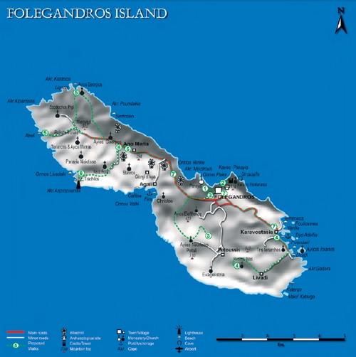 Αποτέλεσμα εικόνας για φολεγανδρος χαρτης
