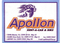 Μύκονος: APOLLON CAR RENTAL