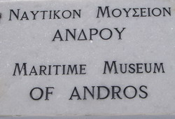 ANDROS: MARITIME MUSEUM OF ANDROS