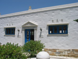 TINOS:  TINION ARTISTS MUSEUM