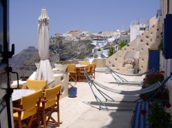 ΘΗΡΑ: IRIANA APARTMENT - CAFE