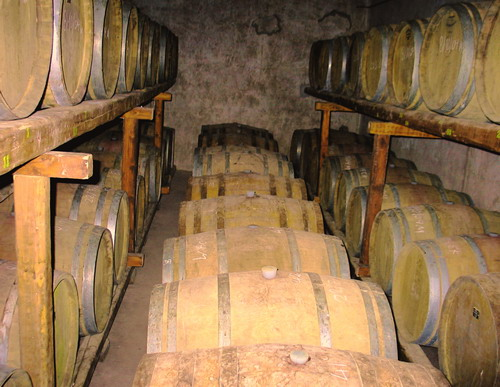 WINE IN BARRELS