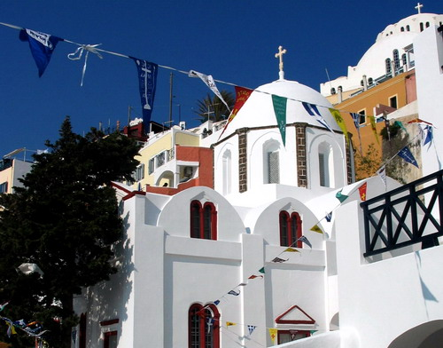 CHURCH IN FIRA