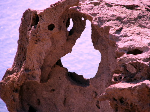 ROCK IN AKROTIRI