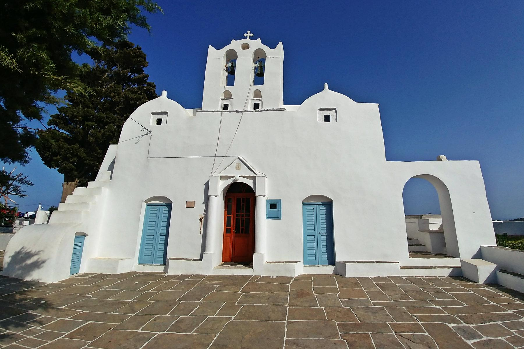 CHURCH IN ARTEMONAS VILLAGE